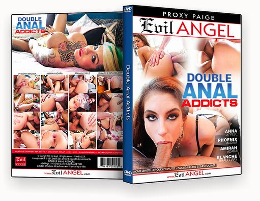 CAPA DVD – Double Anal Addicts xxx 2018 – ISO