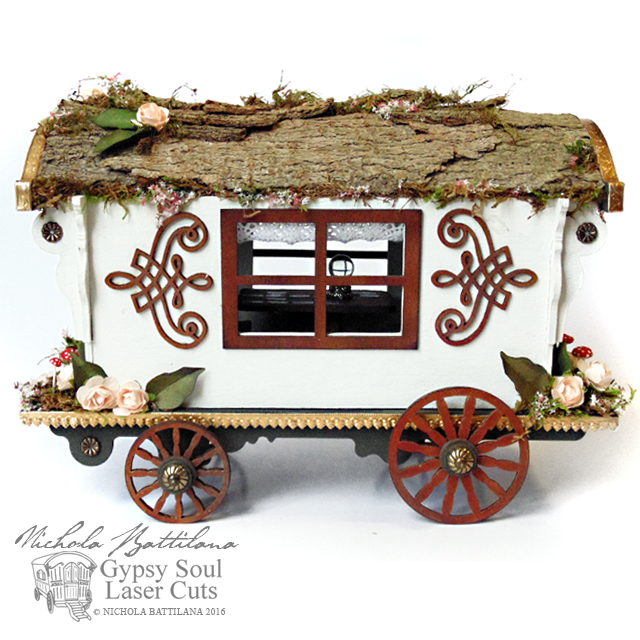 Gypsy Wagon with walkthrough - Nichola Battilana