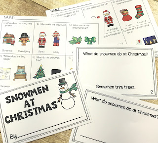 Snowmen at Christmas Book Companion