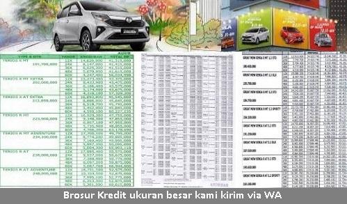 brosur-harga kredit mobil daihatsu ayla samarinda tabel angsuran