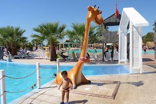 Joel en el Didim Aqua Park.