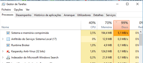 windows 10 lento