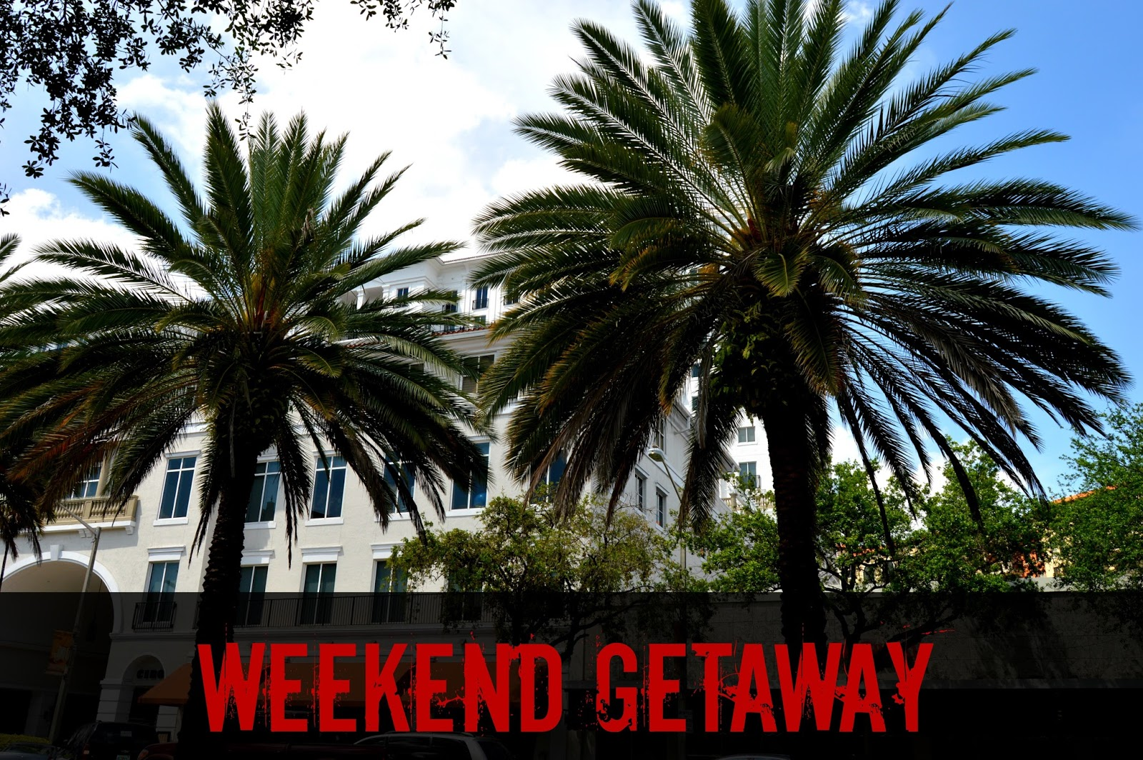 Martinis bikinis road trip for Weekend getaway from miami