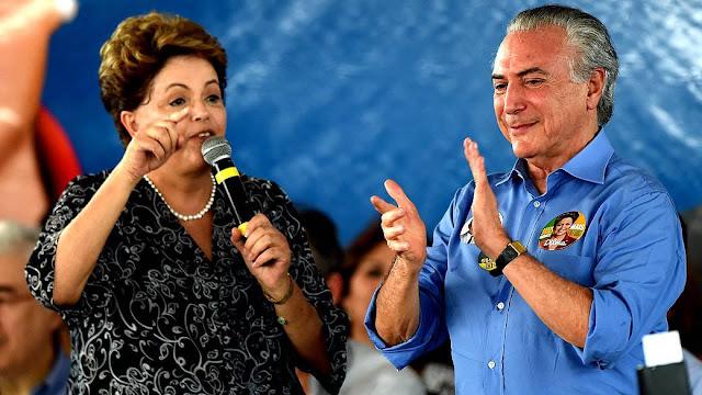 POLÍTICA: Chapa Dilma-Temer será julgada a partir de amanhã.