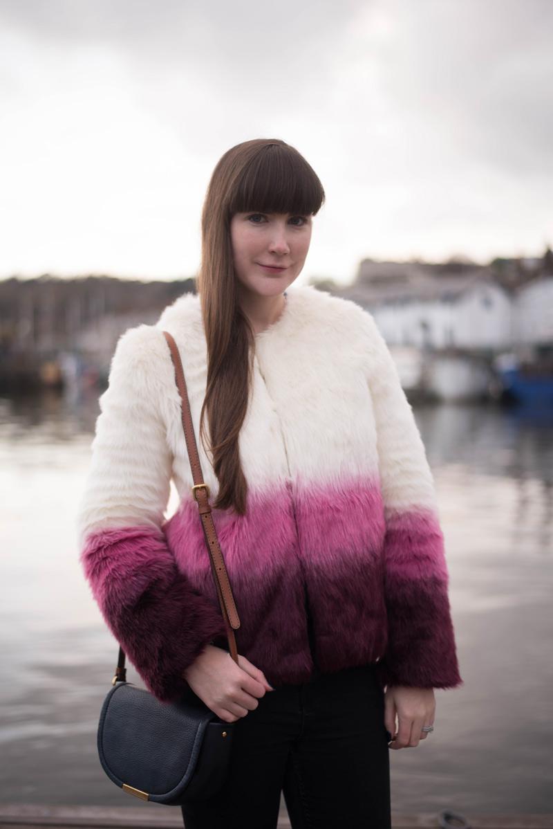 Yumi Faux Fur Jacket