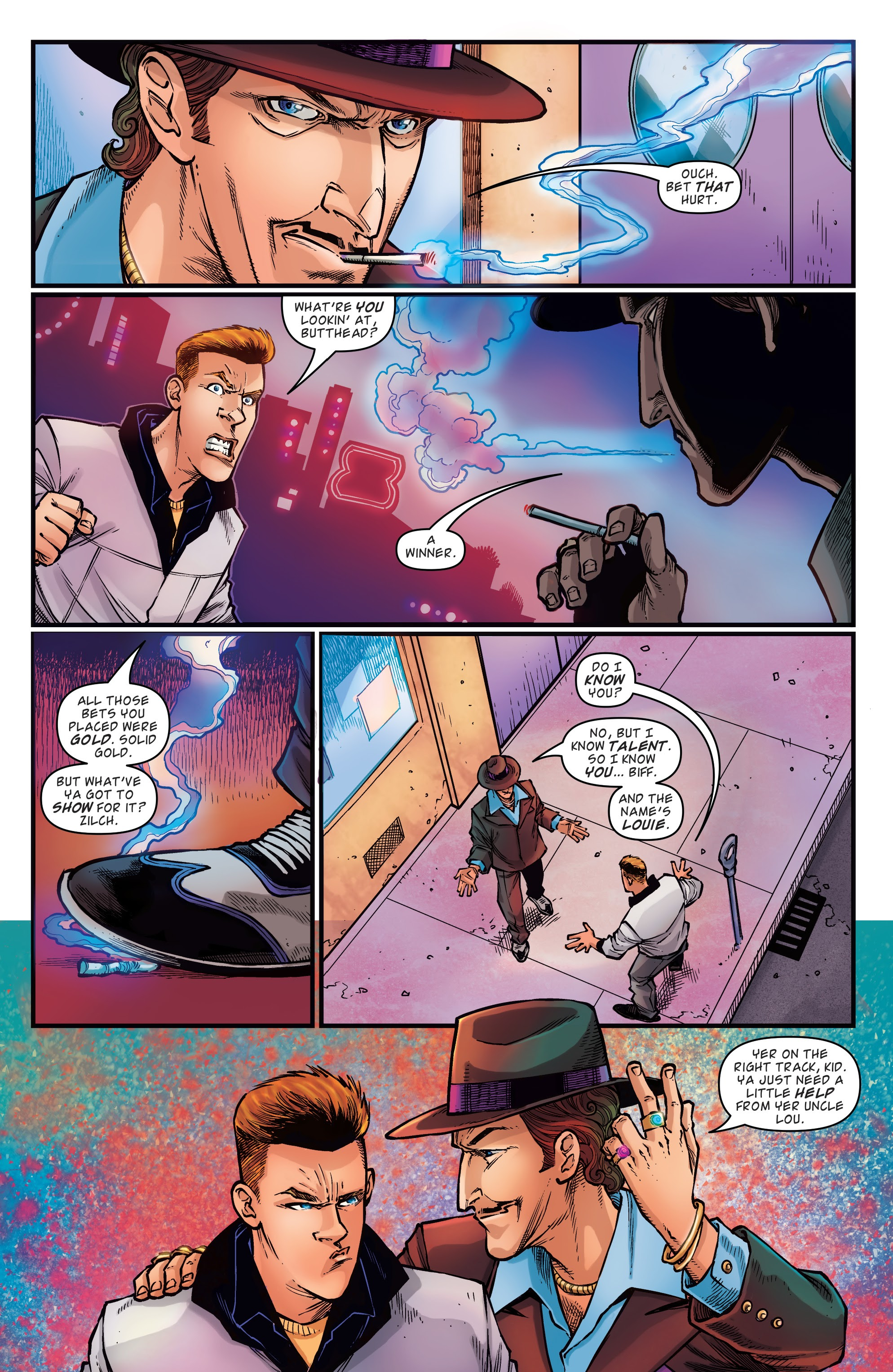 Read online Back to the Future: Biff to the Future comic -  Issue #1 - 10