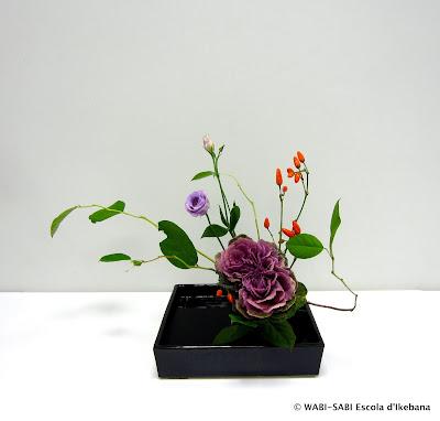 Ikebana-Moribana-Freestyle