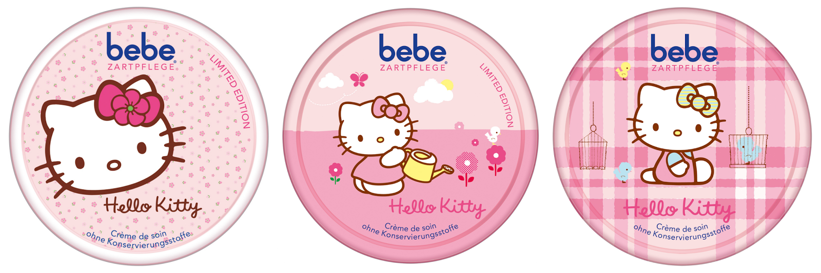 "bebe Zartpflege-Set ""Hello Kitty"""