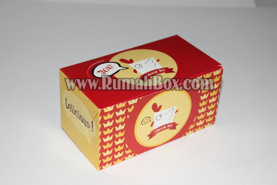 Dus / kemasan Chicken desain Unik Murah ~ Rumah Box