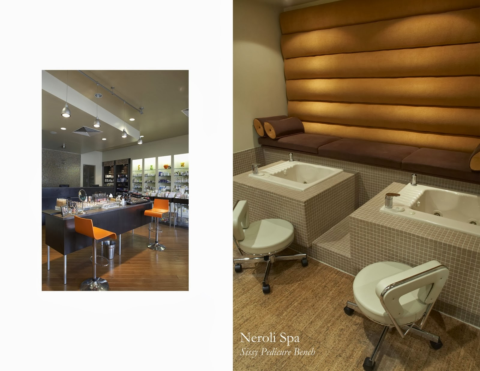 Michele pelafas nail spa salon design for A q nail salon