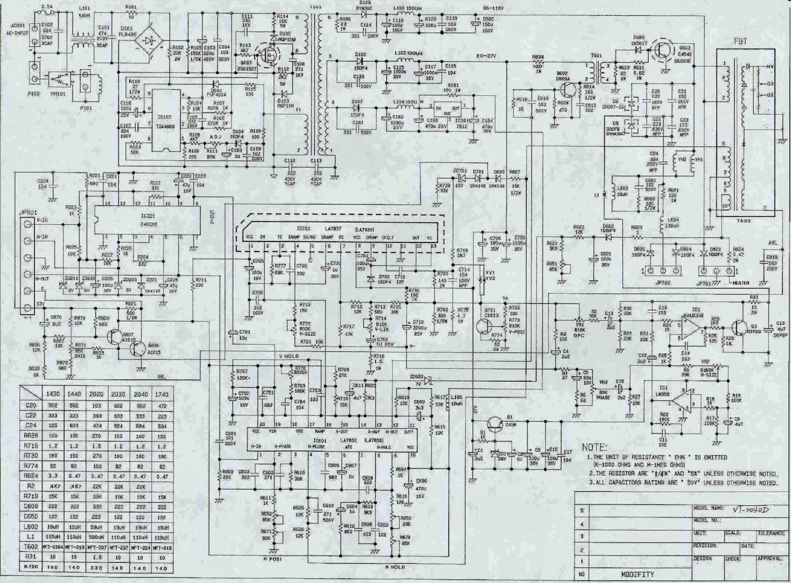 lcd monitor power supply schematics lcd free engine lg tv power supply schematics diagram of a [ 1600 x 1178 Pixel ]