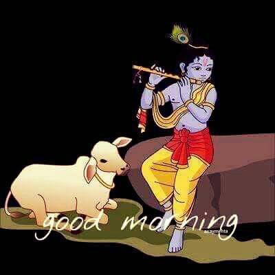 shree krishna with gaya