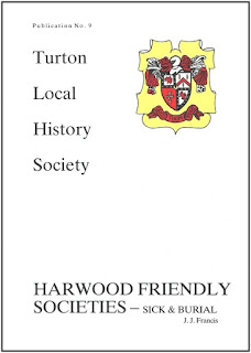 Turton Local History Society #9 - Harwood Friendly Societies