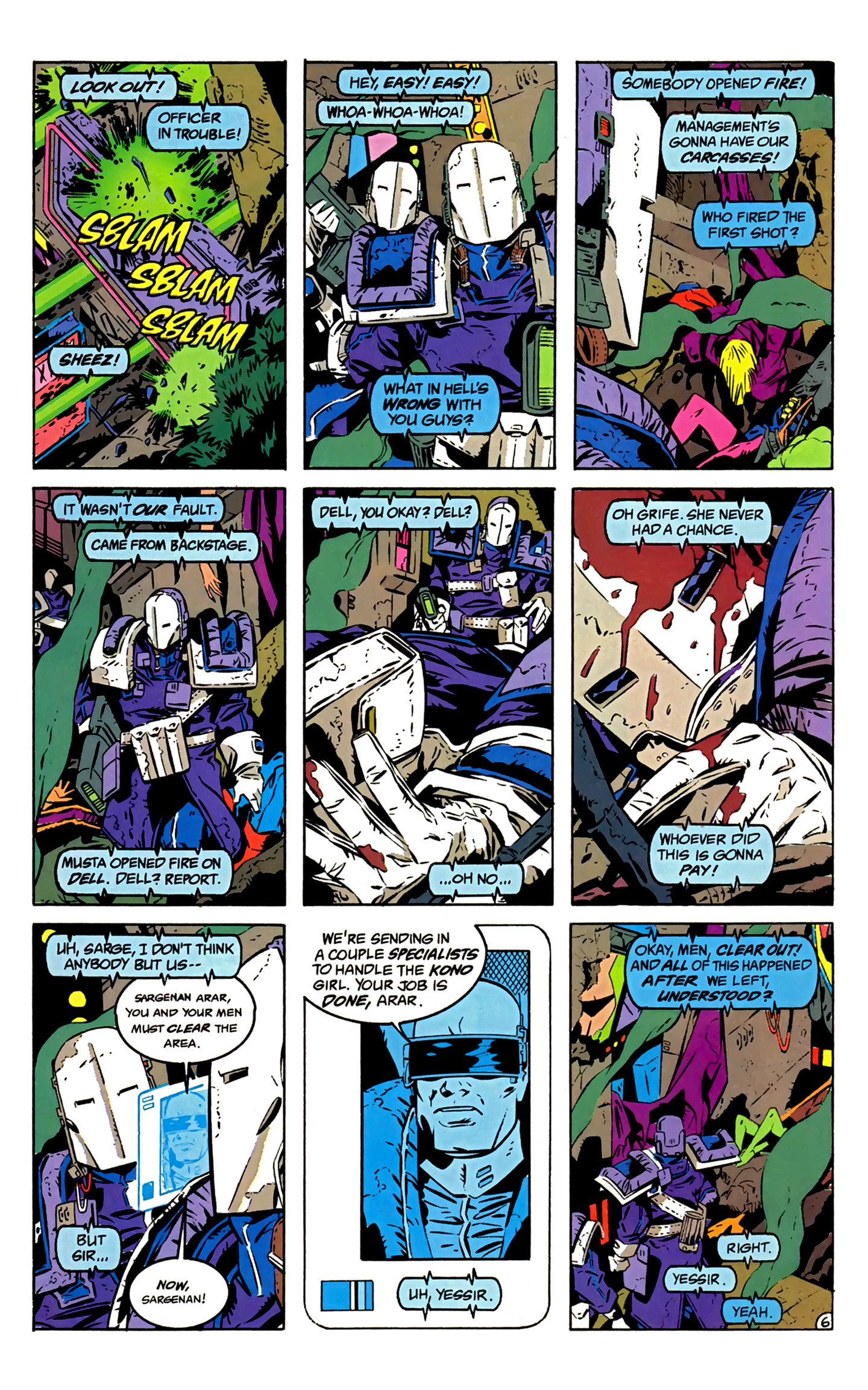 Legion of Super-Heroes (1989) 2 Page 7