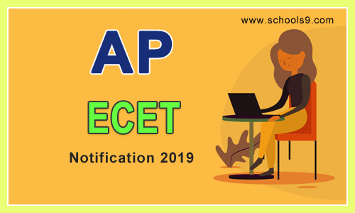 AP ECET Notification 2019