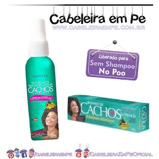 Banho de Cachos e Texturizador Cachos Supremos - Hair Fly (Liberados para No Poo)
