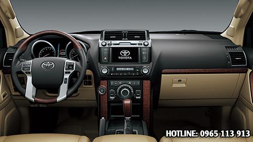 Toyota Land Cruiser Prado nội thất