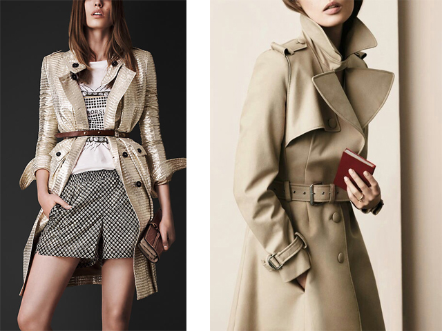 les trench burberry