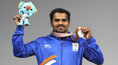 commonwealth-games-2018-gururaja-wins-indias-first-medal-with-56-kg-weightlifting-silver