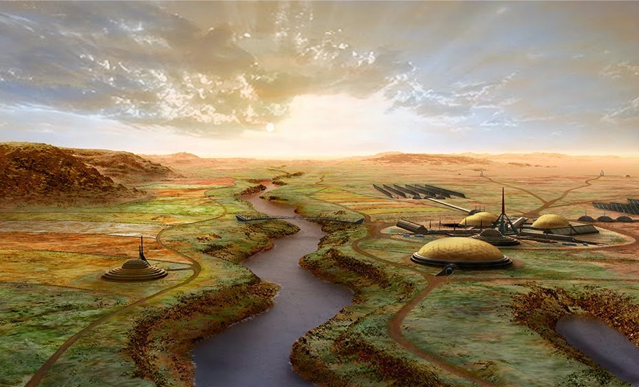 Terraforming Mars - Green Mars