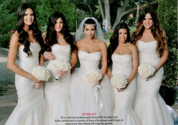 Kim Kardashian Has Said I Do To Her Basketballer Fiancé Kris Humphries In A Beautiful Sunset Ceremony Attended By List Friends