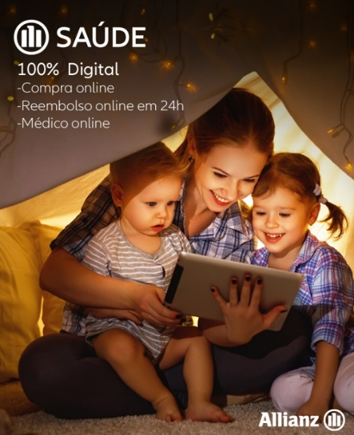 Allianz reforça o seguro de saúde, com uma solução 100% digital