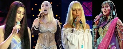 Cher during her 'Living Proof: The Farewell Tour'