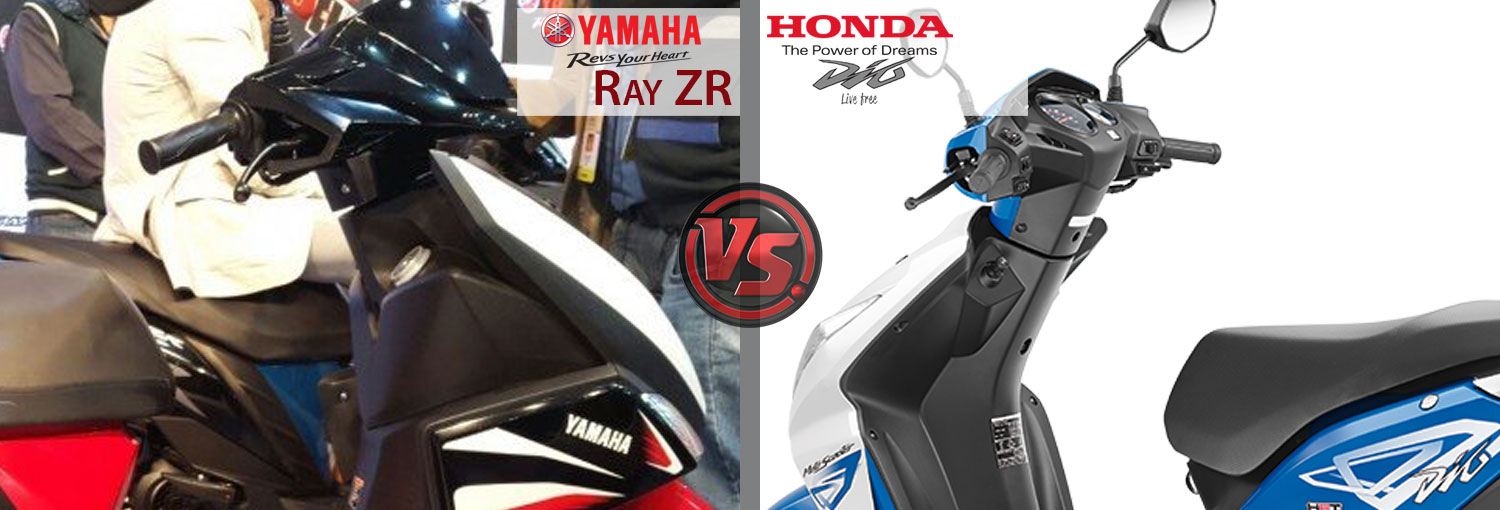 Honda Dio Vs Yamaha Ray Zr Which Is Best
