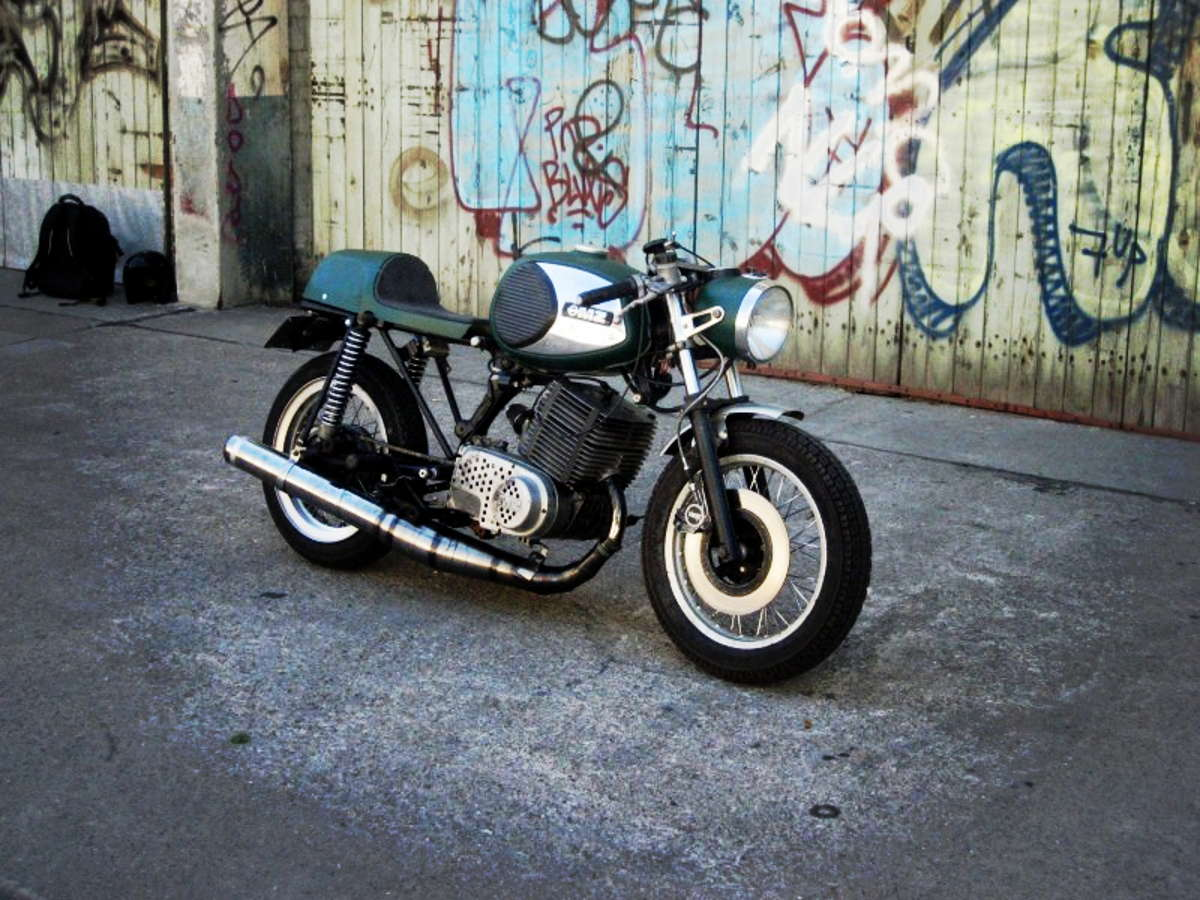 anyone built up or bought a cafe racer? « singletrack forum