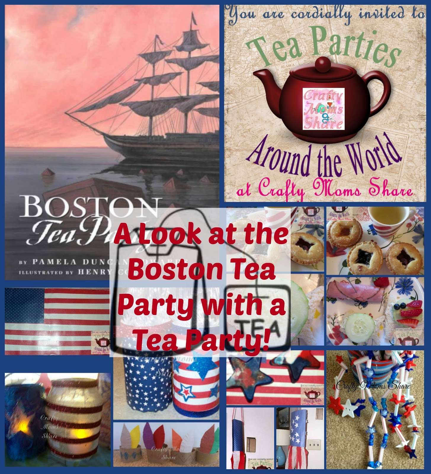 crafty moms share boston tea party themed tea party around the world