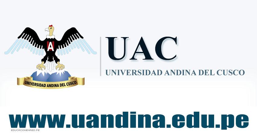 Admisión UANDINA 2018-2 (Examen Ordinario 30 Junio) Inscripción UAC - Puerto Maldonado, Sicuani, Quillabamba - Universidad Andina del Cusco - www.uandina.edu.pe