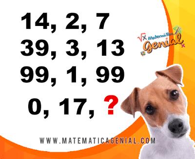 Desafio - Qual é número da sequência? 0,17,?