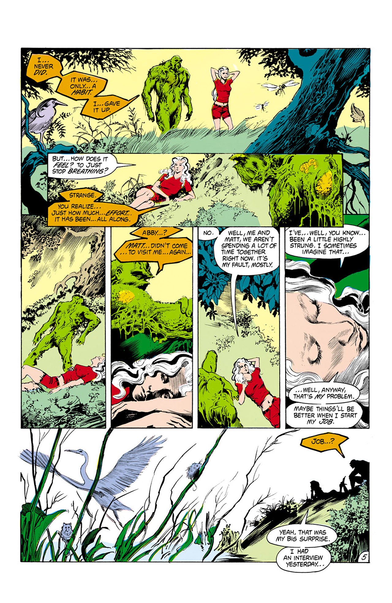 Swamp Thing (1982) Issue #25 #33 - English 6
