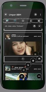 BBM Mod Black n White v3.1.0.13 Apk Terbaru Full Features
