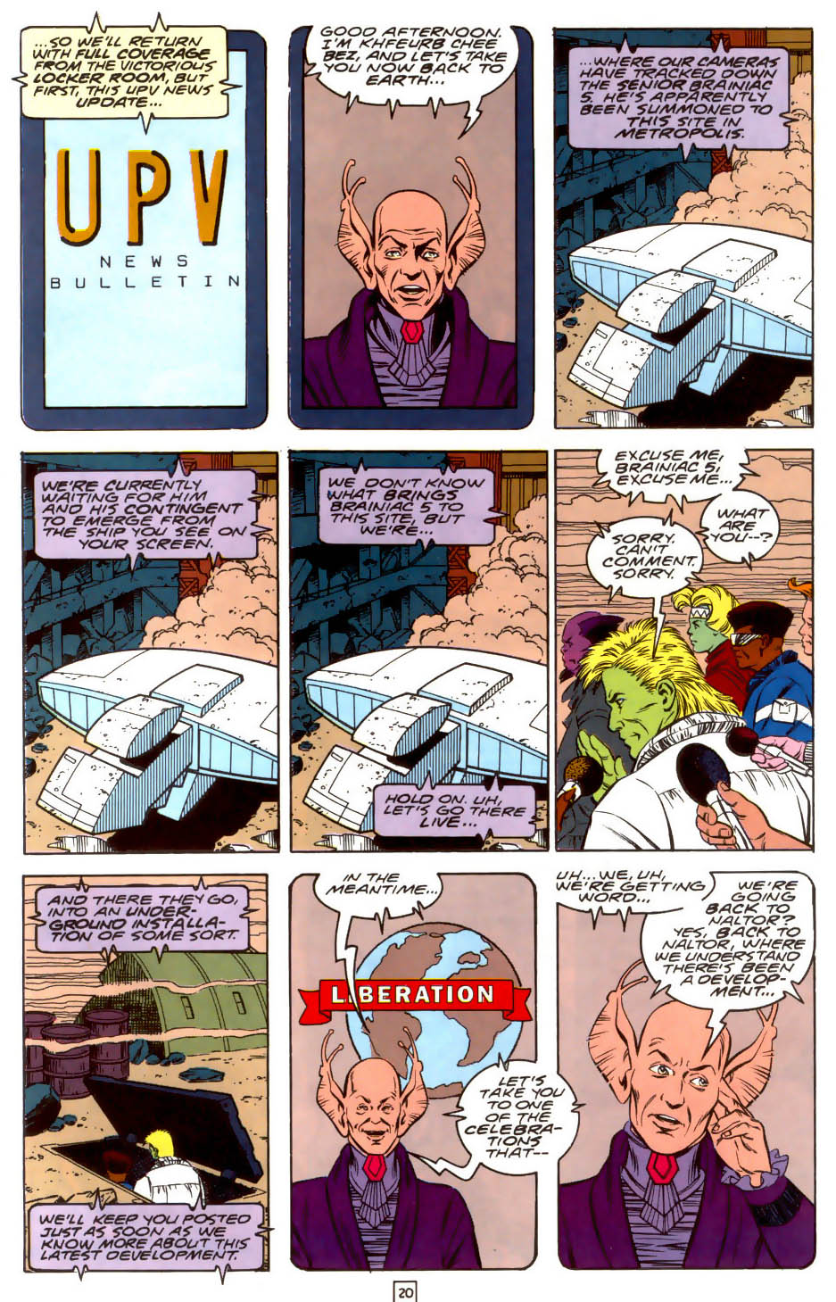 Legion of Super-Heroes (1989) 37 Page 20