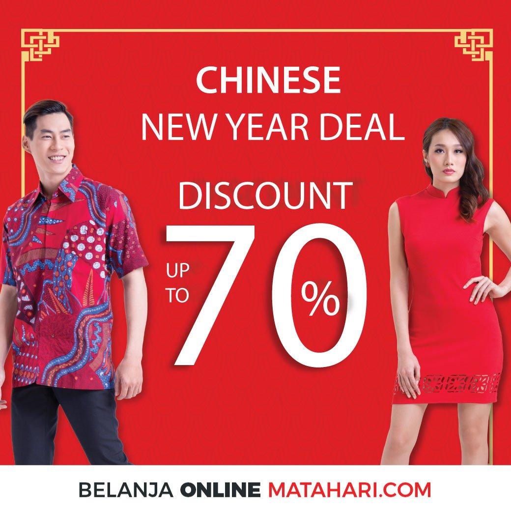 #Matahari - Promo Diskon 70% Sambut Chinese New Year 2019