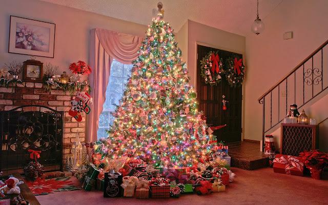 Homemade christmas tree image
