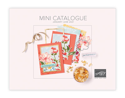 2021 January to June Mini Catalogue