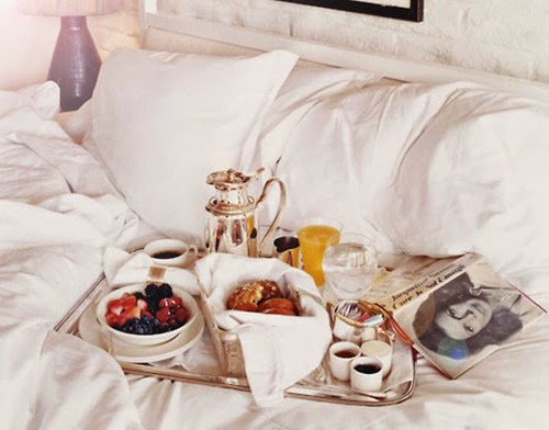 sunday quotes and coffee in bed. Black Bedroom Furniture Sets. Home Design Ideas