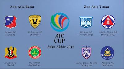 live Pahang Vs FC Istiklol Piala AFC 26 Ogos 2015