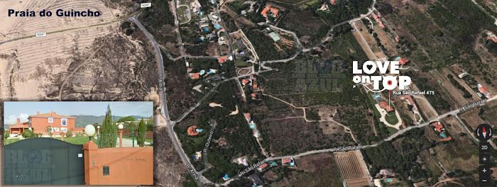 Localicação da Casa do Love On Top no Google e Bing Maps! A Casa do Amor custou 2 Milhões de euros