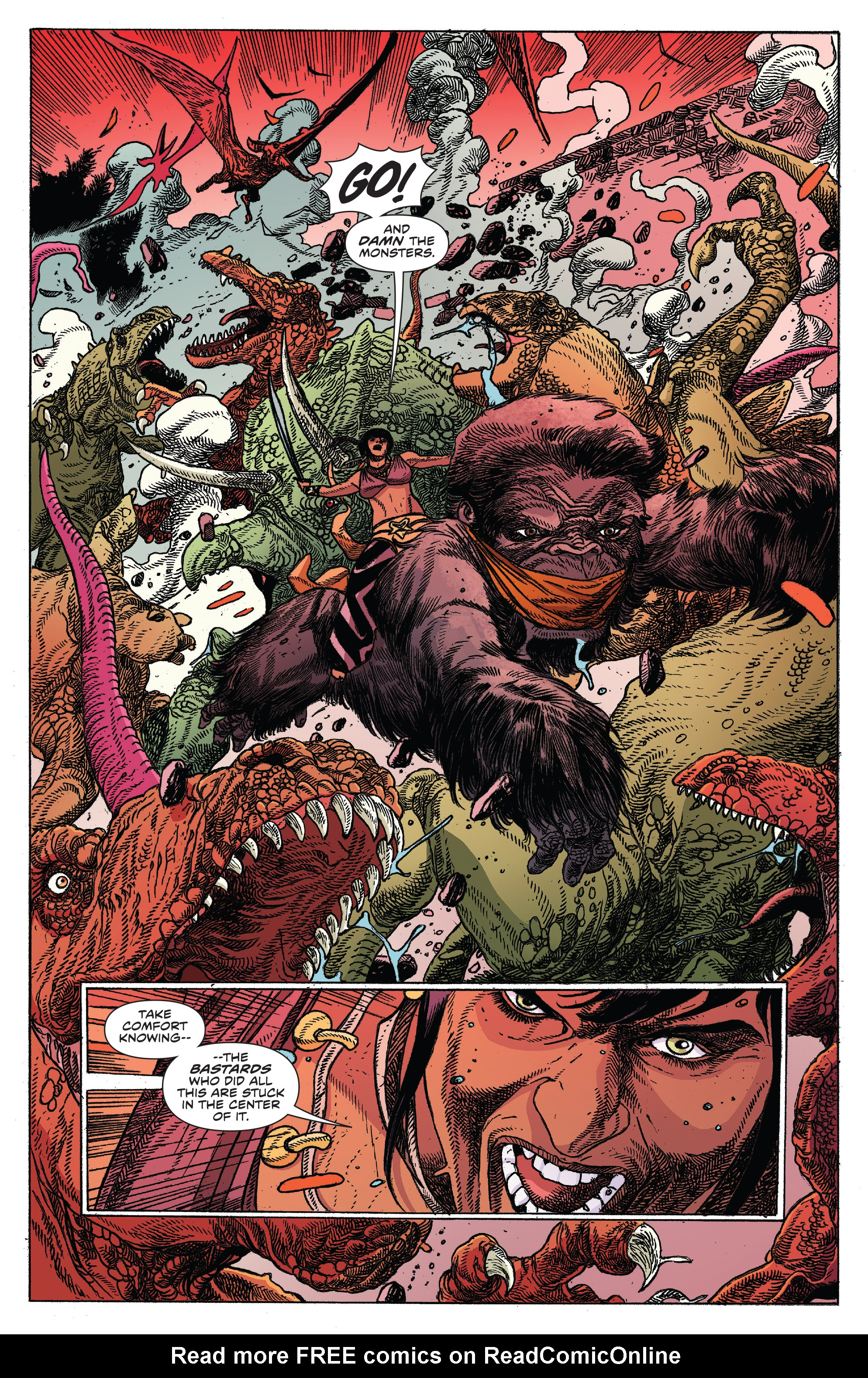Read online Kong Of Skull Island comic -  Issue #12 - 4