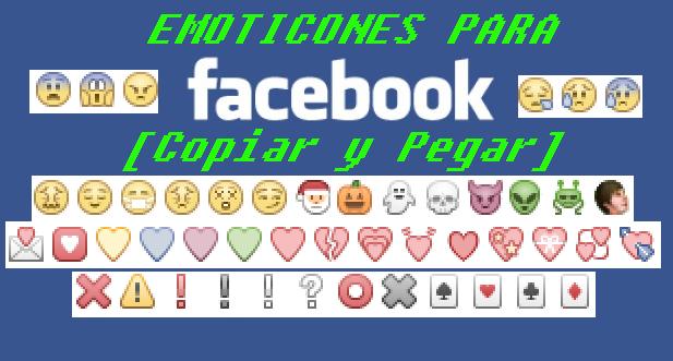 Emoticones para Facebook (copiar y pegar)