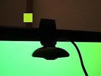 nach unten hängend: AUSDOM® AW310 720P USB 2,0 HD Webcam Kamera mit eingebautem Mikrofon für PC, Laptop Schwarz