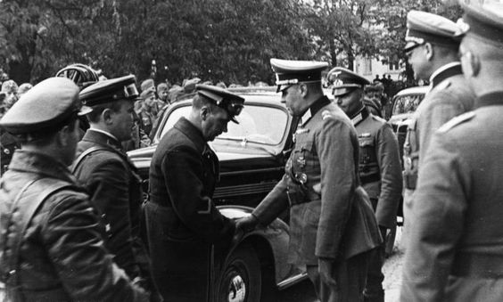 Soviet German military parade Brest-Litovsk 22 September 1939 worldwartwodaily.filminspector.com