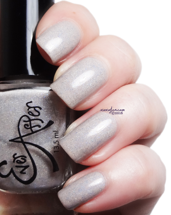 xoxoJen's swatch of Ever After Polish Frost Yourself