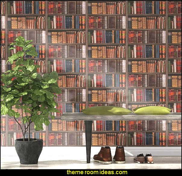 Library Books Wallpaper