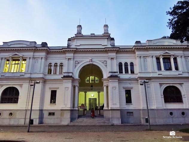 Fachada do Arquivo Histórico Municipal (AHM) - Edifício Ramos de Azevedo - Bom Retiro
