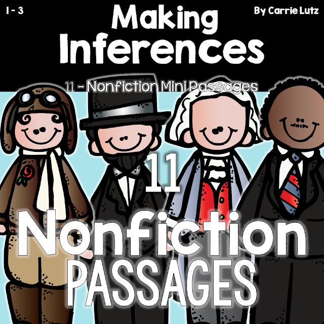 https://www.teacherspayteachers.com/Product/Making-Inferences-PASSAGES-NONFICTION-1096072