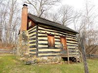 Log cabin slave quarters